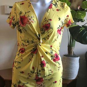 Super Cute Floral Mini Dress